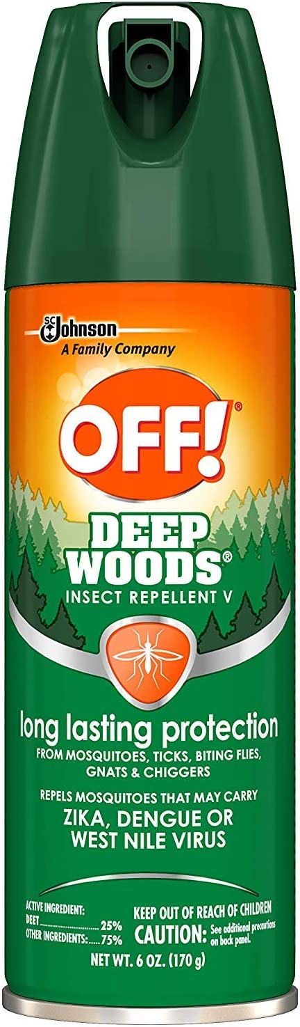 ... DIVERSEY, Deep Woods Off!, 6oz Aerosol, 12/Carton