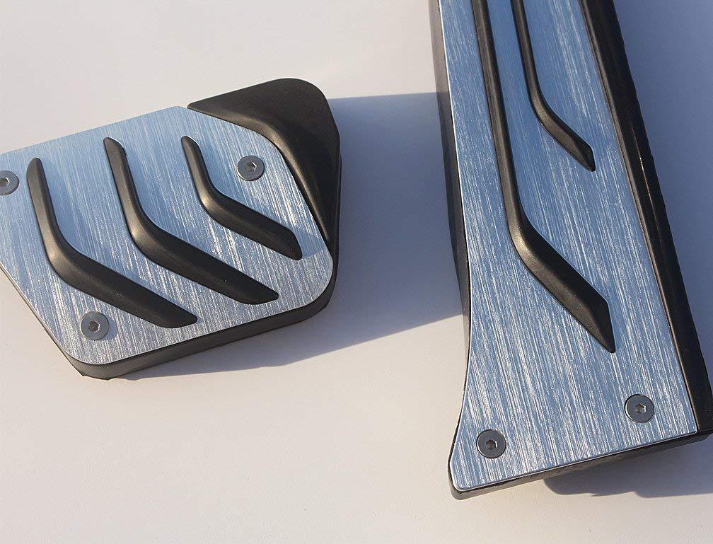 YIWANG No Drill Fuel Gas Brake Pedal pad Cover for BMW 1 2 3 4 5 6 7 Series Z4 X 3 X4 X 5 X6 F20 F30 F31 F32 F34 F36 F10 F07 F01 F25 F15 F16 F26 F12 G11 E70 E71