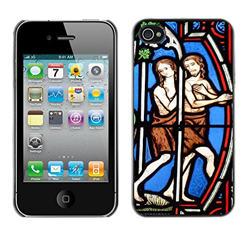 Premio Sottile Slim Cassa Custodia Case Cover Shell // F00012678 église // Apple iPhone 4 4S 4G