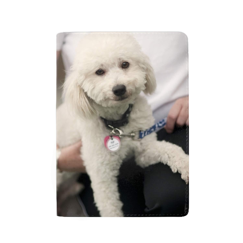 RFID Blocking Passport Holder Theft Proof Leather Wallet for Men /& Women 5 Slots Watercolor Yorkie Dog