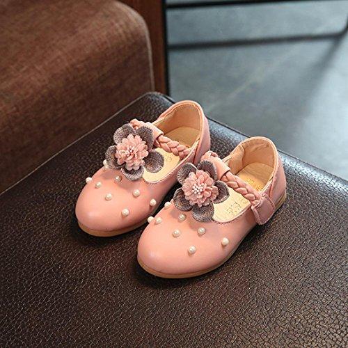 Clode® Baby Mode Sneaker Pearl Kleinkind Kinder Floral Prinzessin Casual Einzelne Schuhe Rosa