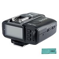 Godox X1T-C Transmisor inalámbrico 2.4G LCD Disparador de flash para Canon EOS Cámaras GODOX TT685C Speedlite X1R-C receptor w/gamuza Andoer
