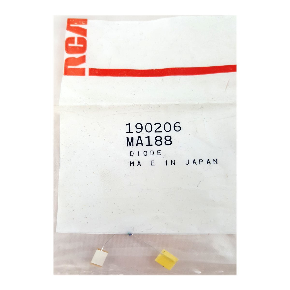RCA VCR Replacement Part Diode No. 190206