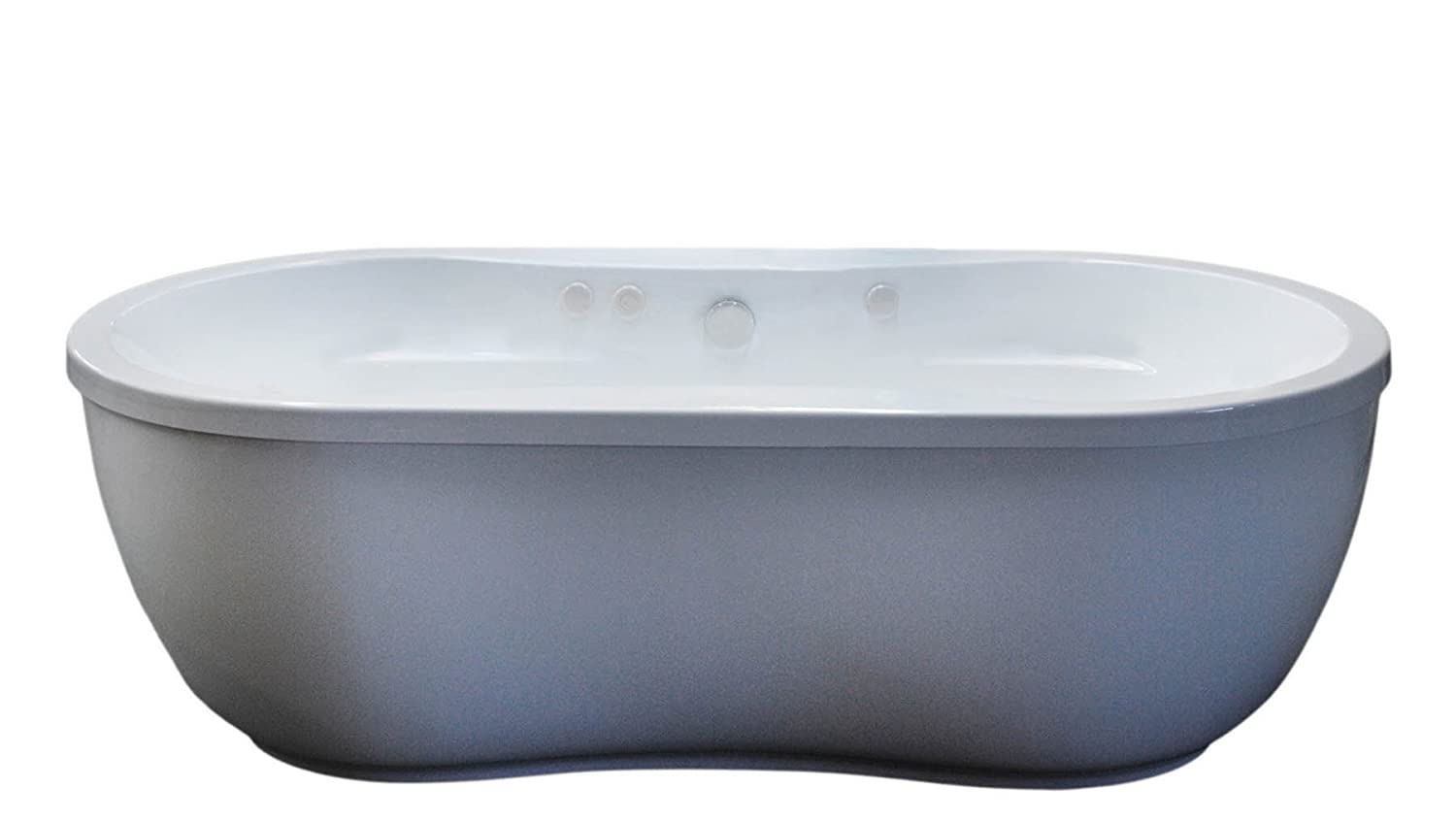 free standing jetted tub