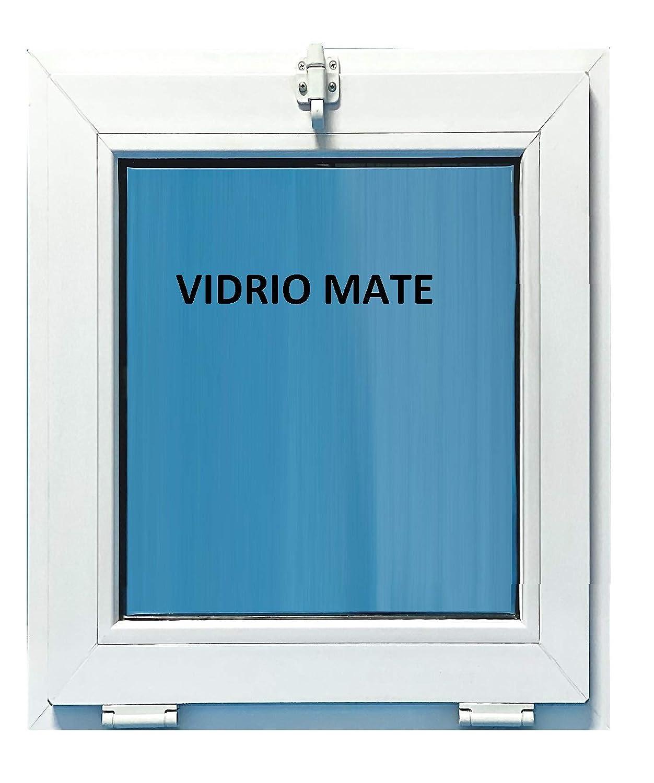Ventana Pvc Ba/ño 500x700 Golpete Abatible Climalit Mate