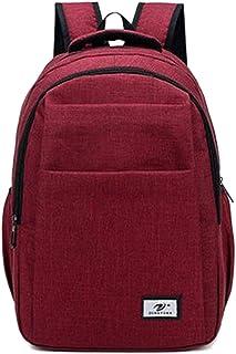 Layxi École Mode Sacs D'école Hommes 14 Pouces Sac d'ordinateur Portable Oxford Etanche Backpack Sac à Dos Grand Loisirs Sac de Voyage