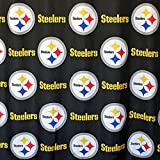 NFL Steelers Shower Curtain Football Logo Bath Accessory
