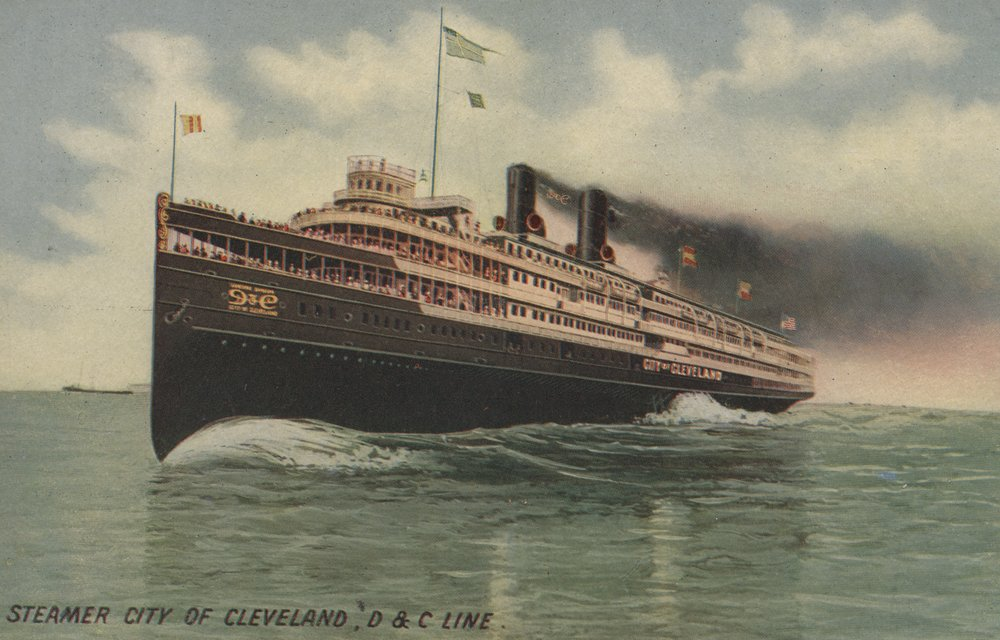 クリーブランド – Steamer City of Cleveland 24 x 36 Giclee Print LANT-6405-24x36 B017ZJJ2GQ  24 x 36 Giclee Print