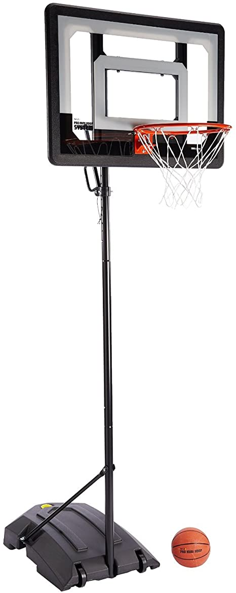 Sklz Pro Mini Hoop Basketball System With Adjustable Height Pole And 7 Inch Ball Portable Basketball Backboards Sports Outdoors