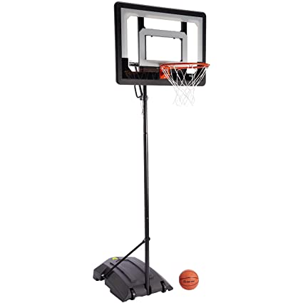 27c1ad7889ec1 SKLZ Pro Mini Hoop Basketball System with Adjustable-Height Pole and 7-Inch  Ball