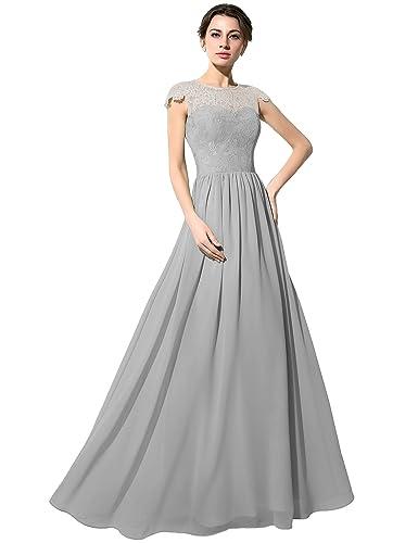 Sarahbridal –  Vestito  – Senza maniche  – Donna