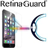 RetinaGuard iPhone 6, 6S Anti Blue Light Tempered Glass Screen Protector (Transparent), SGS and Intertek Tested, Blocks Exces