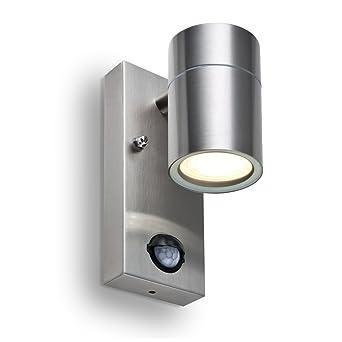 Beliebt LED Wandleuchte Premium mit Bewegungsmelder und Dämmerungssensor TL95