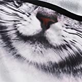 WTACTFUL 3D Animal Ears Fleece Thermal Hood