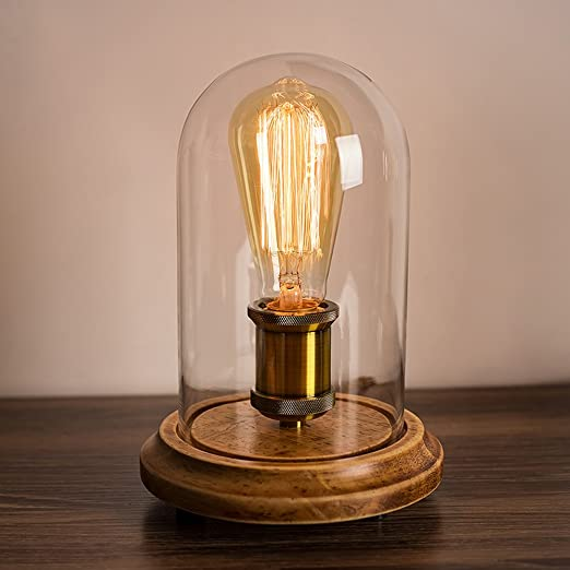 Surpars house vintage desk lamp glass shade table lamp edison bulb surpars house vintage desk lamp glass shade table lamp edison bulb included aloadofball Gallery