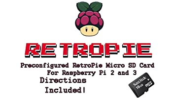 Amazon.com: 16 GB retropie tarjeta micro SD para Raspberry ...