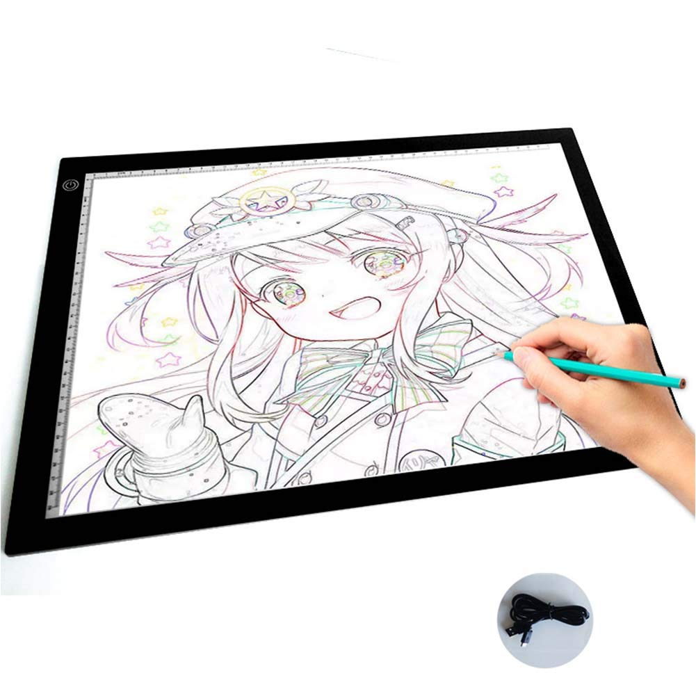 Copy Board Mesa de Luz Dibujo,A3 LED Mesas de Dibujo Light Pad ...