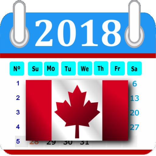 canada calendar 2018 holidays free