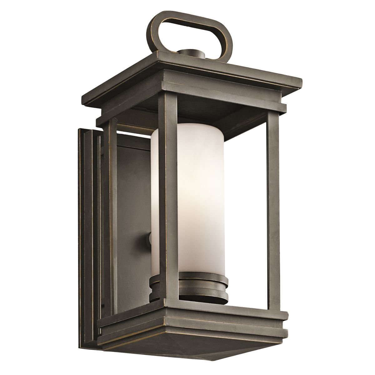 Kichler 49474rz South Hope 1 Light 1175 Small Outdoor Wall In Home Depot Photocells For Rubbed Bronze Porch Lights