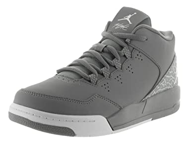 2b887a3bb27 Nike Jordan Kids Jordan Flight Origin 2 Bp Cool Grey White Wolf Grey Basketball  Shoe
