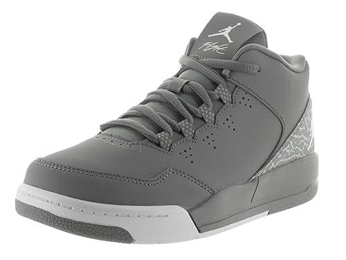 Nike Jordan Kids Jordan Flight Origin 2 Bp Cool Grey White Wolf Grey Basketball  Shoe 13 Kids US  Amazon.co.uk  Shoes   Bags 1cbf091f5