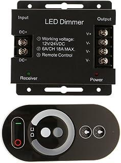 MagiDeal Écran Tactile Simple Couleur LED Réglage à Distance pour LED Strip DC12~24V