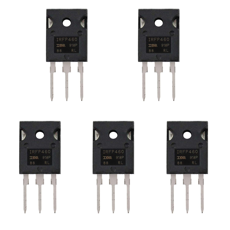 confezione da 10 pezzi BOJACK IRF530 MOSFET Transistor IRF530N 17 A 100 V MOSFET di potenza a canale N TO-220AB