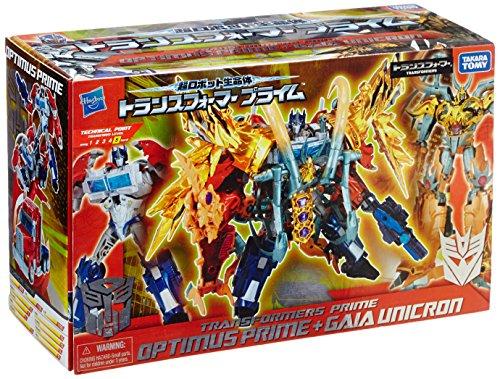01 Optimus Prime - AM-01 Optimus Prime & AM-19 Gaia Unicron
