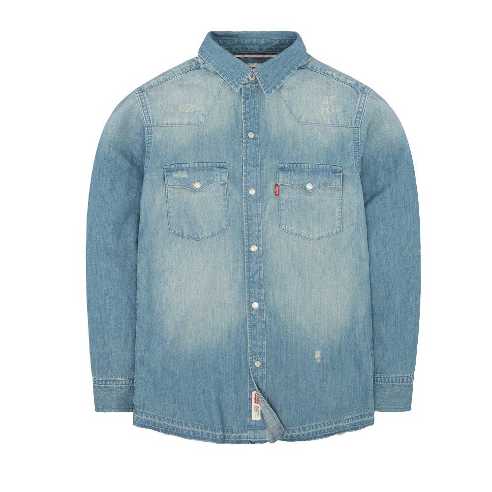 Levi's Big Boy's Barstow Western Shirt 916866