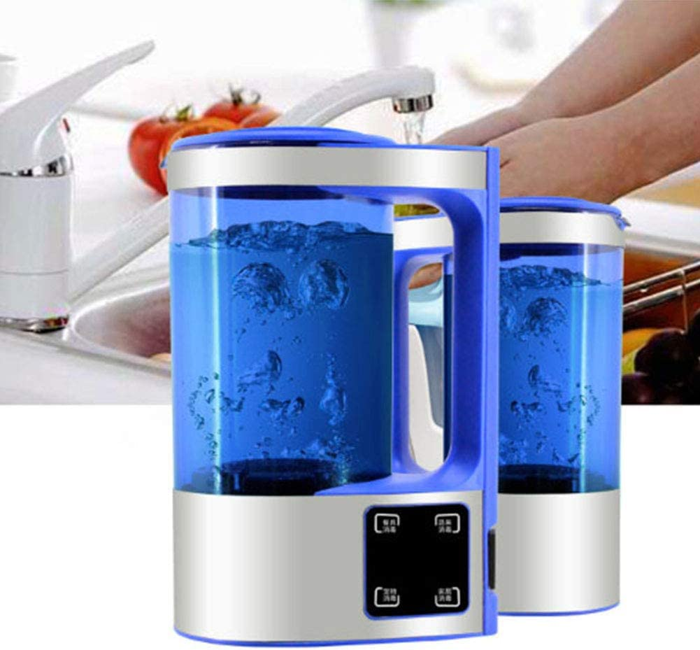 Desinfección Portátil Máquina para Hacer Líquidos Lavadora De Frutas Y Verduras Generador De Agua con Ácido Hipocloroso para La Desinfección del Hogar