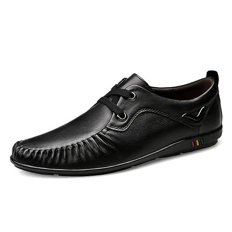 CAI Zapatos de Hombre 2018 Primavera/Otoño Hombres Zapatos Formales Hombres de Gran tamaño Mocasines