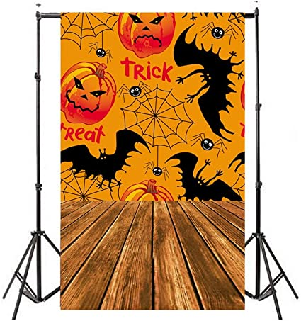 Decoration Collapsible Halloween Party Simple Style 3D Photography Background Light Weight Background Stand Background Screen Without Wrinkles Baby Portrait Photobooth Family Birthday Party