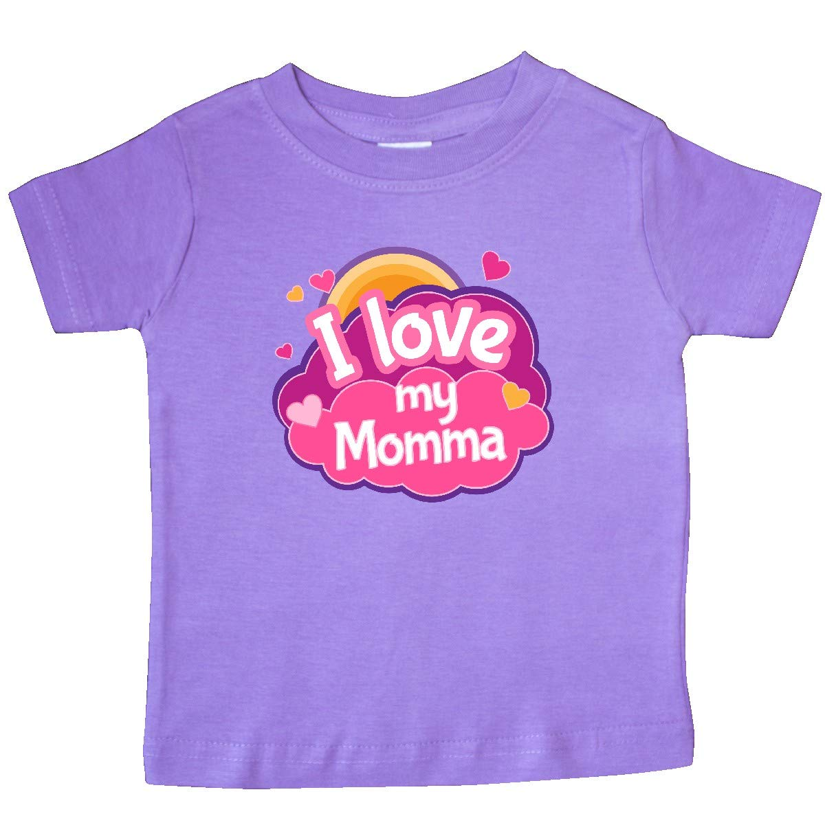 inktastic I Love My Momma Outfit for Girls Baby T-Shirt