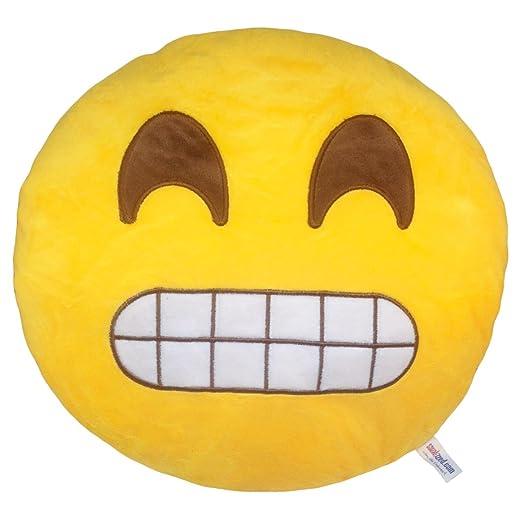Cojín Emoji Mueca