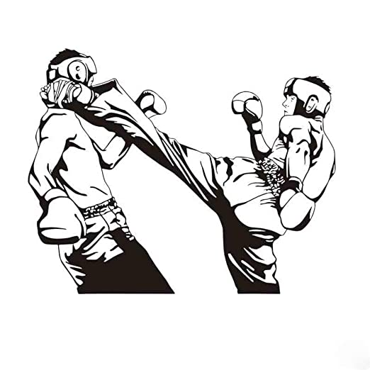Pegatina De Pared Pegatina De Pared Frases Club De Boxeo