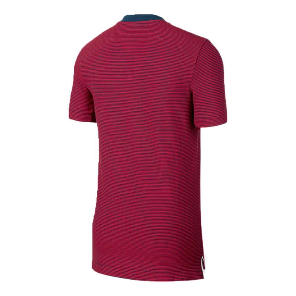 2017-2018 PSG Nike Authentic League Polo Shirt (Navy): Amazon.es ...