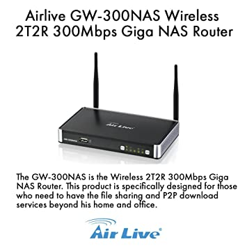 AirLive GW-300NAS Download Driver