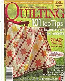 American Patchwork Quilting April 2009 Better Homes