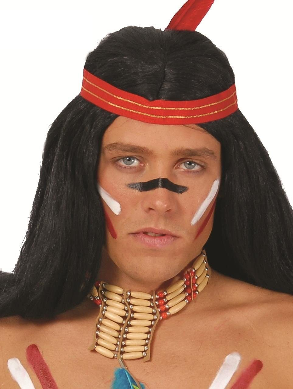 Collar de India Indio accesorio Disfraz Carnaval Halloween Talla ...