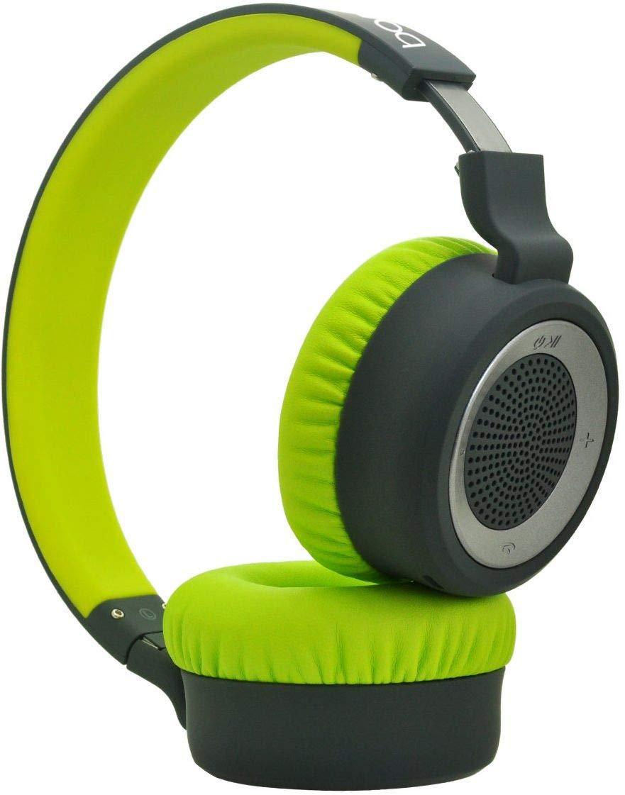 Boat Rockerz 430 Wireless Bluetooth Headphone (Space Gray/Green)