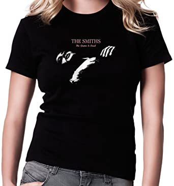 de Morrissey and The Smiths The Smiths Queen Is Dead Camiseta para Mujer.: Amazon.es: Ropa y accesorios