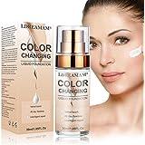 Base de Maquillaje,Base Líquida,Hidratante Líquido Base,Base de maquillaje Cobertura completa Nuevo,24H Base de…