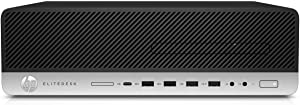 HP EliteDesk 800 G3 Small Form Factor PC, Intel Core Quad i5 6500 up to 3.6 GHz, 16GB DDR4, 2TB+512GB SSD, WiFi, VGA, DP, Win 10 Pro 64-Multi-Language Support English/Spanish/French(Renewed)