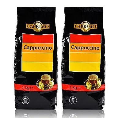 2 x café capuchino Caprimo bebida en polvo 1 kg