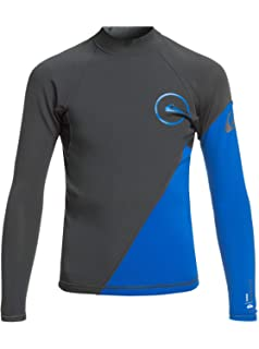 7d322ca3e1e1 Quiksilver 1mm Syncro Series Long Sleeve Neoprene Youth Boys Top Wetsuits