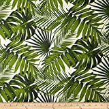 Tempo Tropical Botanics Natural Fabric By The Yard