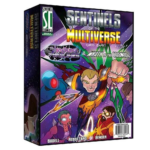 Greater Than Games Sentinel of The Multiverse: Shattered Timelines & Wrath of The Cosmos Board Game]()