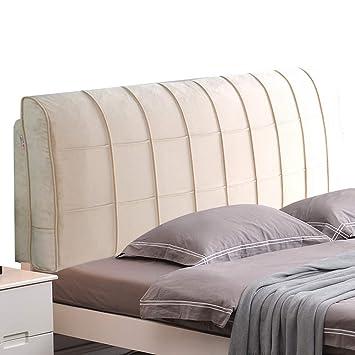Amazon.com: CHAXIA - Cojín tapizado para respaldo de cama ...