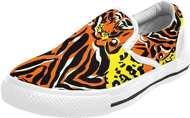 INTERESTPRINT Leopard Print Orange