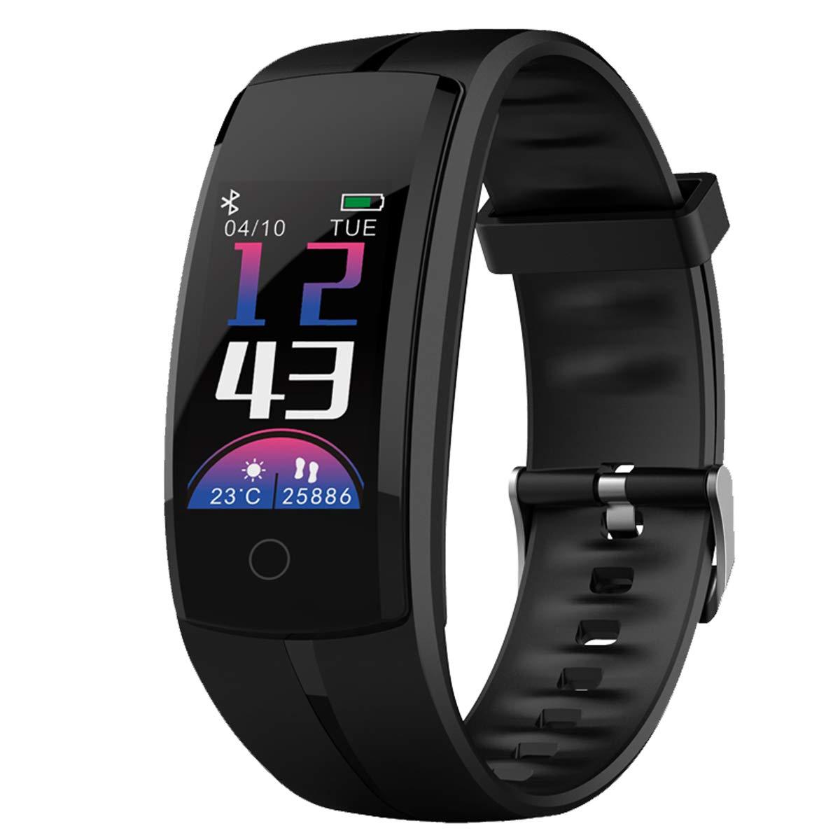 Tracker UhrActivity Sleep Smartwatch Fitness Schrittzähler Mit Monitoramp; Armband Bluetooth Zeerkeer Smart Herzfrequenz Nachrichten K1JcF3lT